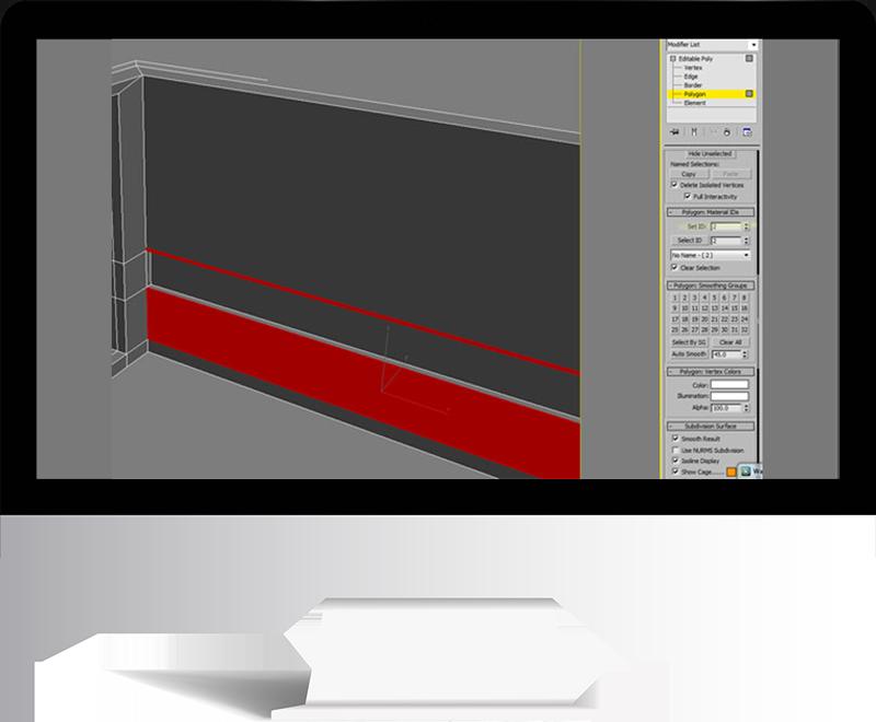 3dmax rendering modeling43 - مدل سازی و رندر محیط داخلی با استفاده از 3ds Max و Vray