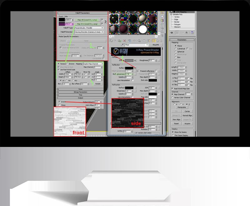 3dmax rendering modeling47 - مدل سازی و رندر محیط داخلی با استفاده از 3ds Max و Vray