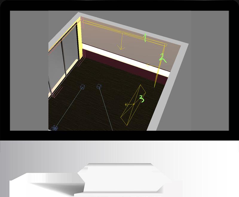 3dmax rendering modeling49 - مدل سازی و رندر محیط داخلی با استفاده از 3ds Max و Vray