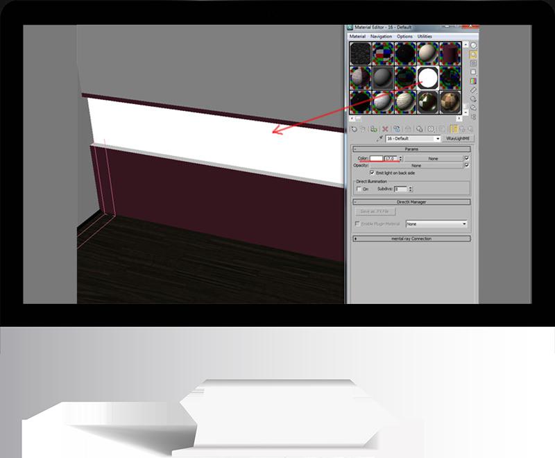 3dmax rendering modeling53 - مدل سازی و رندر محیط داخلی با استفاده از 3ds Max و Vray