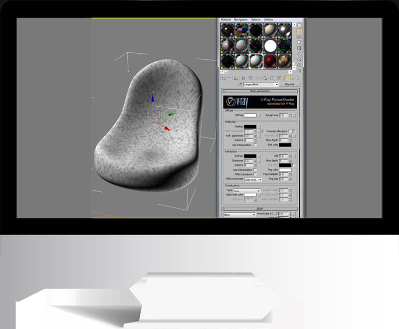 3dmax rendering modeling61 - مدل سازی و رندر محیط داخلی با استفاده از 3ds Max و Vray