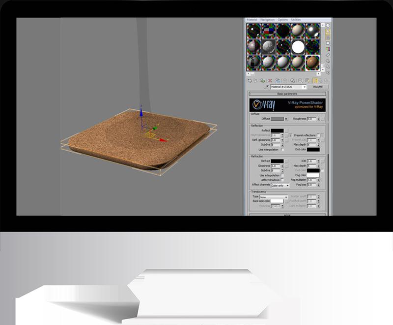 3dmax rendering modeling67 - مدل سازی و رندر محیط داخلی با استفاده از 3ds Max و Vray