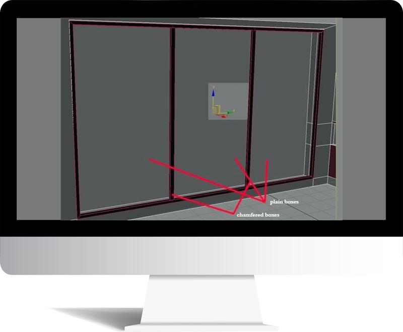 3dmax rendering modeling7 - مدل سازی و رندر محیط داخلی با استفاده از 3ds Max و Vray