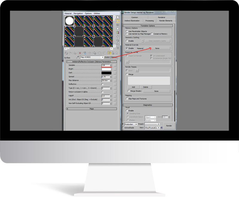 3dmax rendering modeling75 - مدل سازی و رندر محیط داخلی با استفاده از 3ds Max و Vray