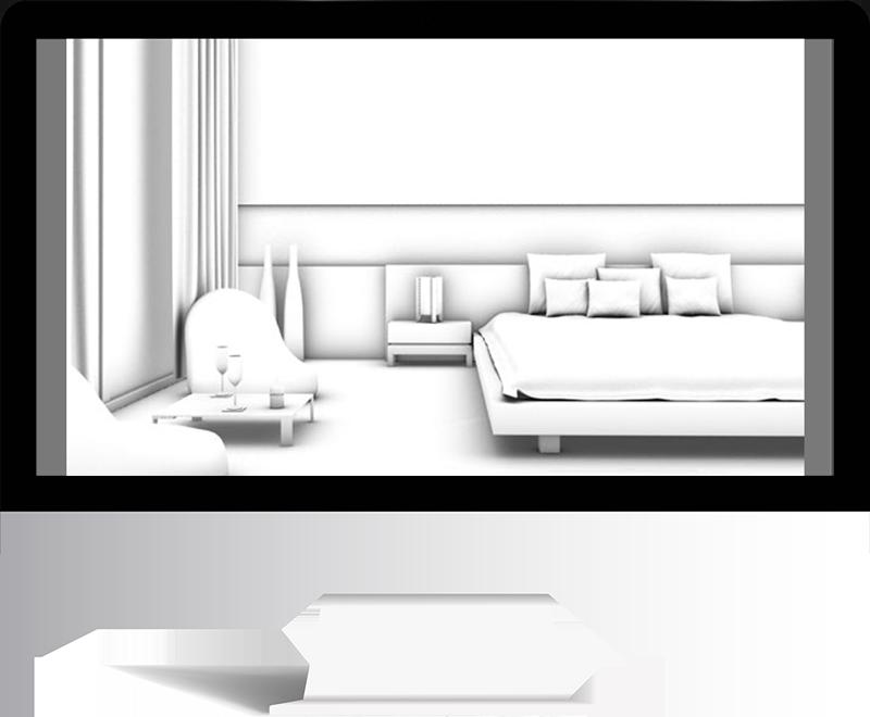 3dmax rendering modeling76 - مدل سازی و رندر محیط داخلی با استفاده از 3ds Max و Vray