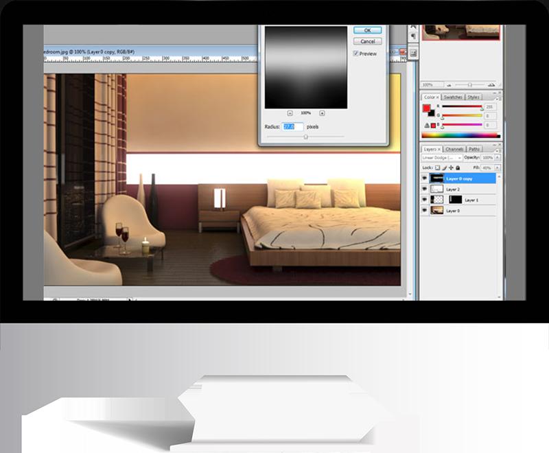 3dmax rendering modeling83 - مدل سازی و رندر محیط داخلی با استفاده از 3ds Max و Vray