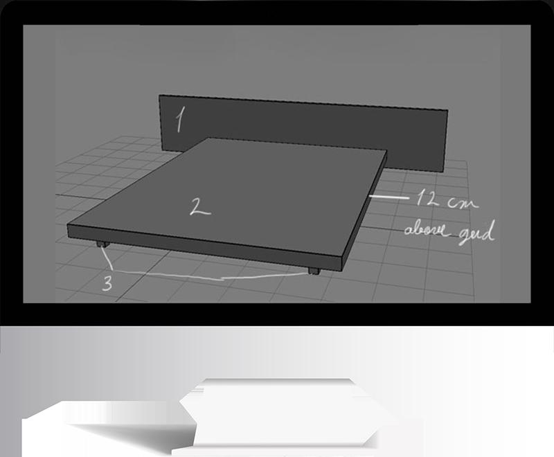 3dmax rendering modeling9 - مدل سازی و رندر محیط داخلی با استفاده از 3ds Max و Vray