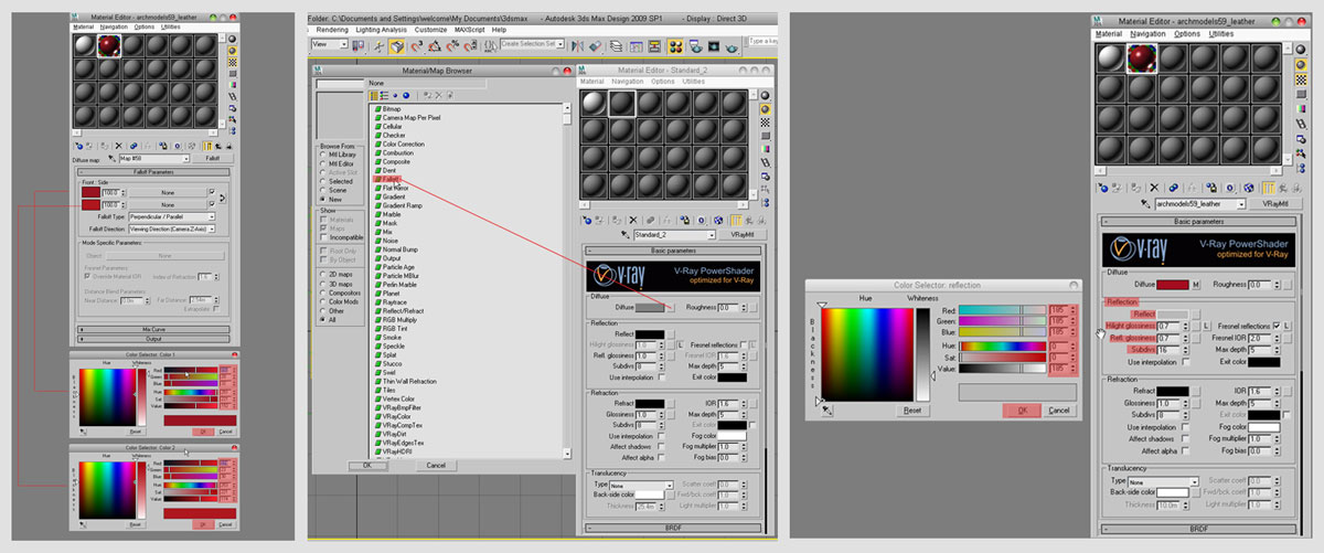 3dmax vray rendering12 - آموزش رندرگیری در تری دی مکس و وی ری