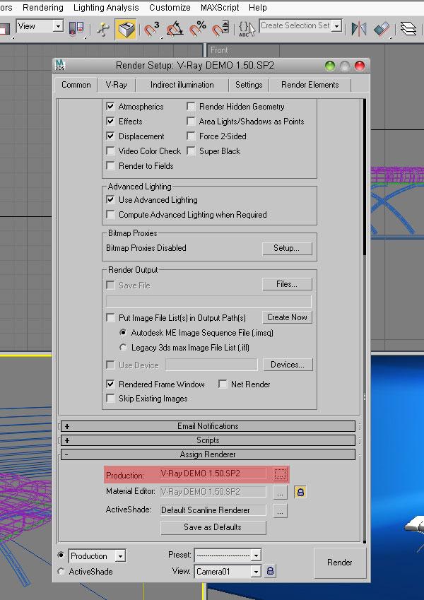 3dmax vray rendering9 - آموزش رندرگیری در تری دی مکس و وی ری
