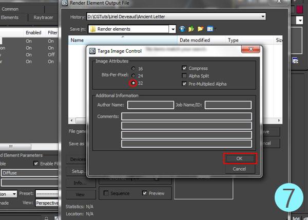 3dsmax multi pass rendering15 - رندر و ترکیب بندی چند مرحله ای یا مولتی پس در 3ds Max و After Effects