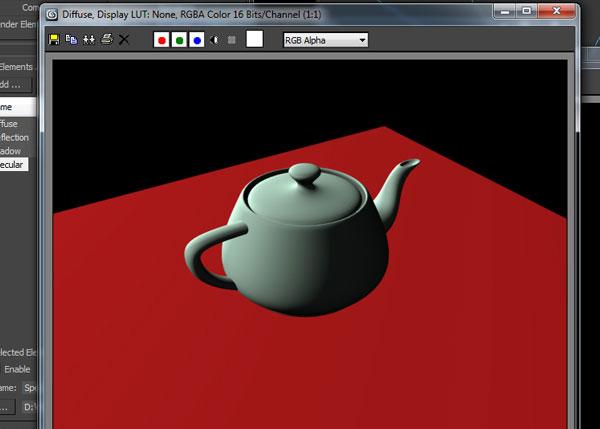 3dsmax multi pass rendering19 - رندر و ترکیب بندی چند مرحله ای یا مولتی پس در 3ds Max و After Effects