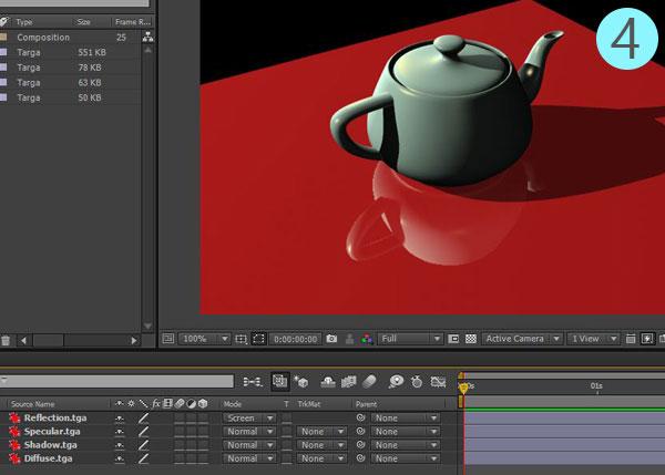 3dsmax multi pass rendering26 - رندر و ترکیب بندی چند مرحله ای یا مولتی پس در 3ds Max و After Effects