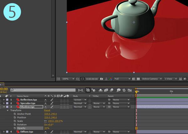 3dsmax multi pass rendering27 - رندر و ترکیب بندی چند مرحله ای یا مولتی پس در 3ds Max و After Effects