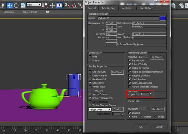 3dsmax multi pass rendering35 - رندر و ترکیب بندی چند مرحله ای یا مولتی پس در 3ds Max و After Effects