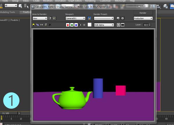 3dsmax multi pass rendering37 - رندر و ترکیب بندی چند مرحله ای یا مولتی پس در 3ds Max و After Effects