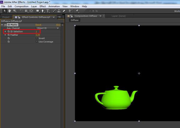 3dsmax multi pass rendering43 - رندر و ترکیب بندی چند مرحله ای یا مولتی پس در 3ds Max و After Effects