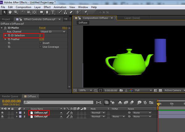 3dsmax multi pass rendering44 - رندر و ترکیب بندی چند مرحله ای یا مولتی پس در 3ds Max و After Effects