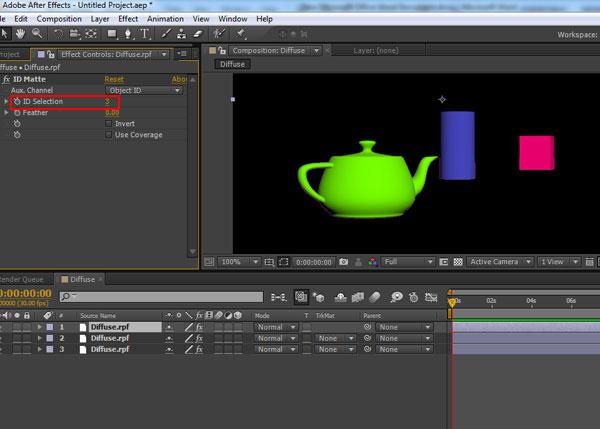 3dsmax multi pass rendering45 - رندر و ترکیب بندی چند مرحله ای یا مولتی پس در 3ds Max و After Effects