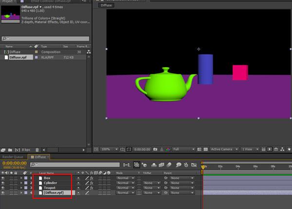 3dsmax multi pass rendering46 - رندر و ترکیب بندی چند مرحله ای یا مولتی پس در 3ds Max و After Effects