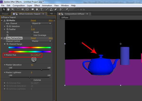 3dsmax multi pass rendering48 - رندر و ترکیب بندی چند مرحله ای یا مولتی پس در 3ds Max و After Effects