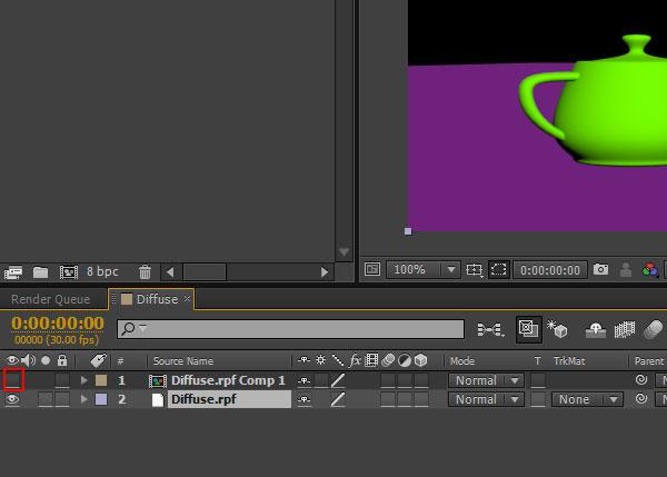3dsmax multi pass rendering54 - رندر و ترکیب بندی چند مرحله ای یا مولتی پس در 3ds Max و After Effects
