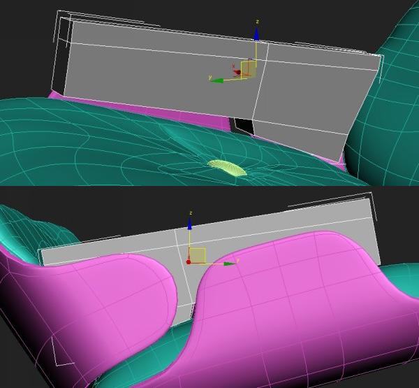 70 3dmax - آموزش مدلسازی با تری دی مکس ، مدلسازی صندلی ایمز لانژ