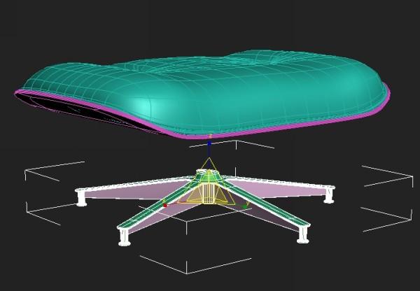85 3dmax - آموزش مدلسازی با تری دی مکس ، مدلسازی صندلی ایمز لانژ