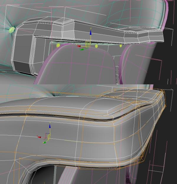 98 3dmax - آموزش مدلسازی با تری دی مکس ، مدلسازی صندلی ایمز لانژ