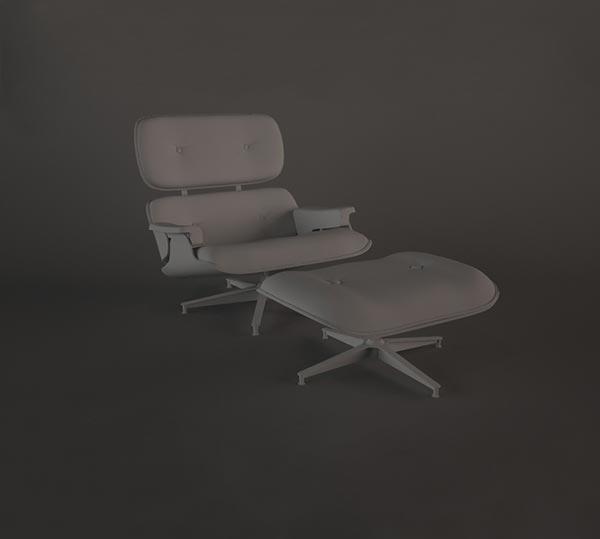 final3 - آموزش مدلسازی با تری دی مکس ، مدلسازی صندلی ایمز لانژ